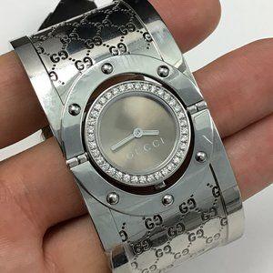 GUCCI Ladies YA112416 Twirl Dial Watch